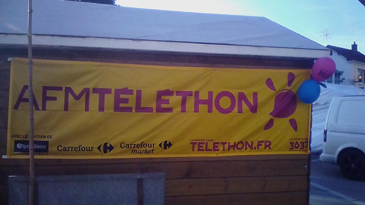 Téléthon à Saint-Julien-de-Concelles !